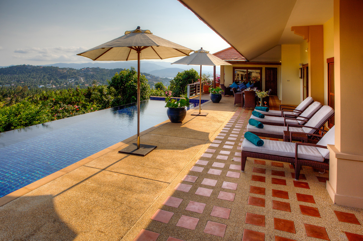 5 Bedroom Seaview Villa with Private Pool at Choeng Mon Koh Samui