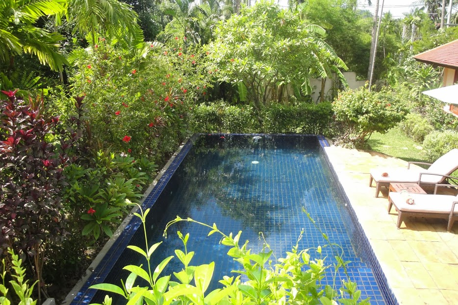 3 Bedroom Garden View Villa with Private Pool at Choeng Mon Ko Samu