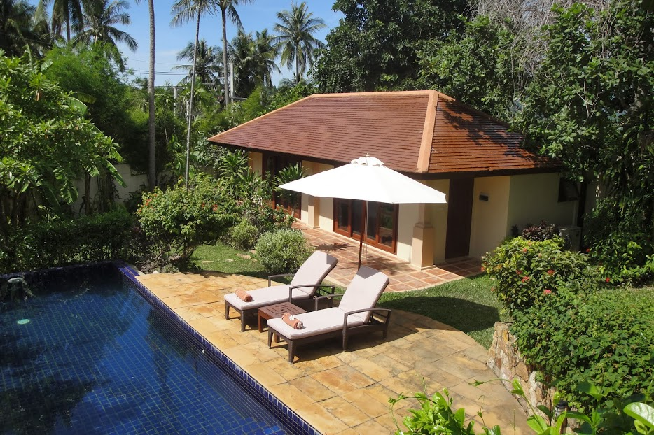 2 Bedroom Option Garden View Villa with Private Pool at Choeng Mon Ko Samui