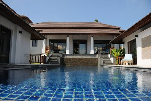 3 Bedroom Sea View Villa with Private Pool at Choeng Mon Koh Samui