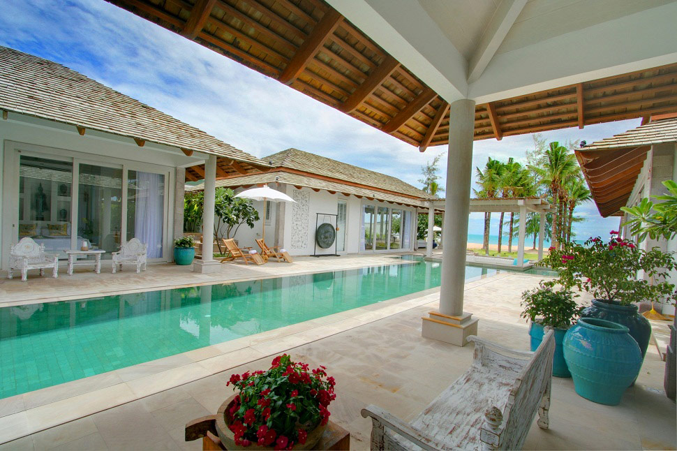 5 Bedroom Beach Front Villa with Private Pool at Chaweng Koh Samui
