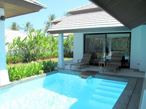 2 Bedroom Garden Villa with Private Pool at Choeng Mon Ko Samui