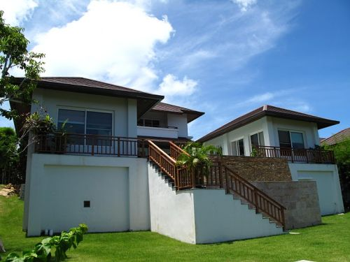 3 Bedroom Sea View Villa with Private Pool at Choeng Mon Ko Samui