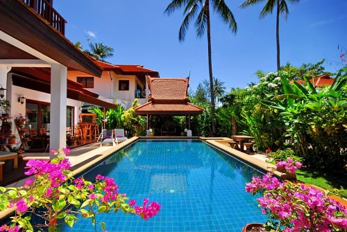 4 Bedroom Garden Villa with Luxury Pool at Laem Sett Koh Samui
