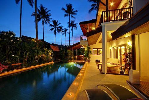 4 Bedroom Garden Villa with Luxury Pool at Laem Sett Koh Samui