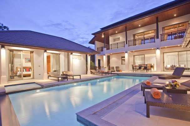 5 Bedroom Sea View Villa with Private Pool at Choeng Mon Ko Samui