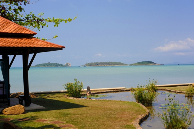 4 Bedroom Beach Front Villa with Private Pool at Plai Laem Koh Samui