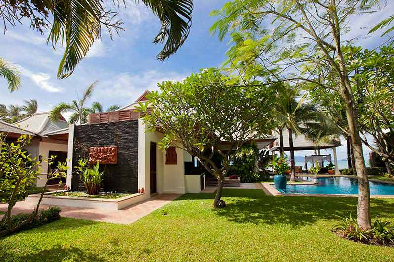 2 Bedroom Option Luxury Beach Front Villa with Private Pool at Maenam Koh Samui