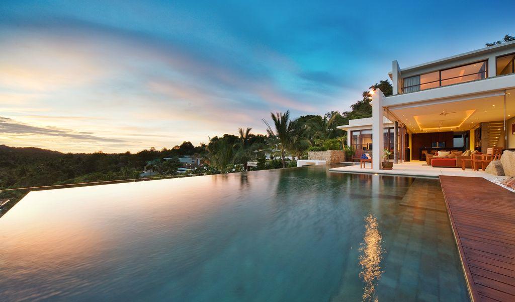 4 Bedroom Sea View Villa with Pool at Choeng Mon Ko Samui