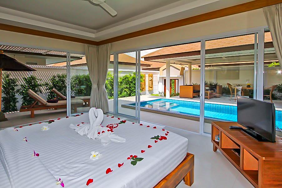 1 Bedroom Garden Villa with Private Pool at Plai Laem Koh Samui