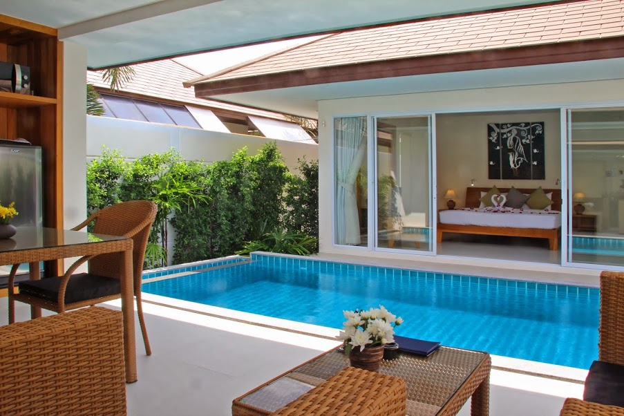 1 Bedroom Garden Villa with Private Pool at Plai Laem Koh Samui