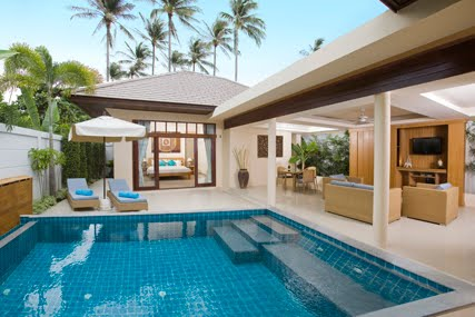 2 Bedroom Garden Villa with Private Pool at Plai Laem Koh Samui