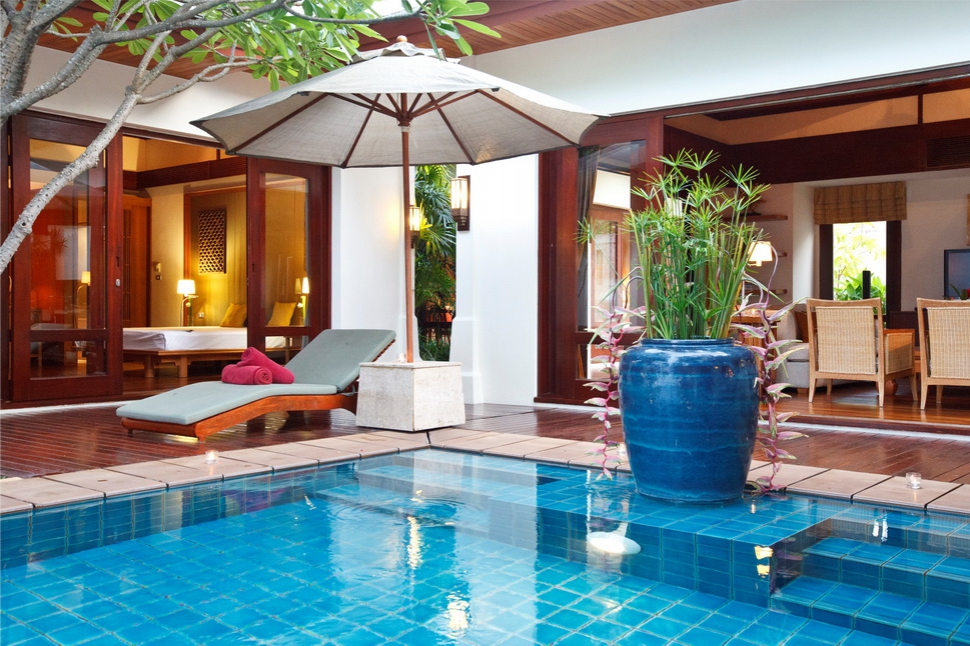 4 Bedroom Option Luxury Beach Front Villa with Pool at Maenam Koh Samui