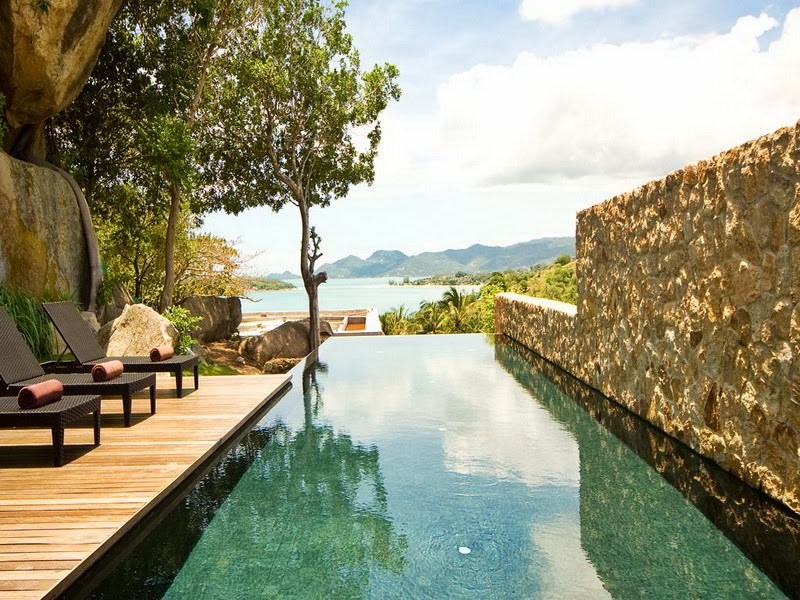 1 Bedroom Option Sea View Villa with Pool at Choeng Mon Ko Samui