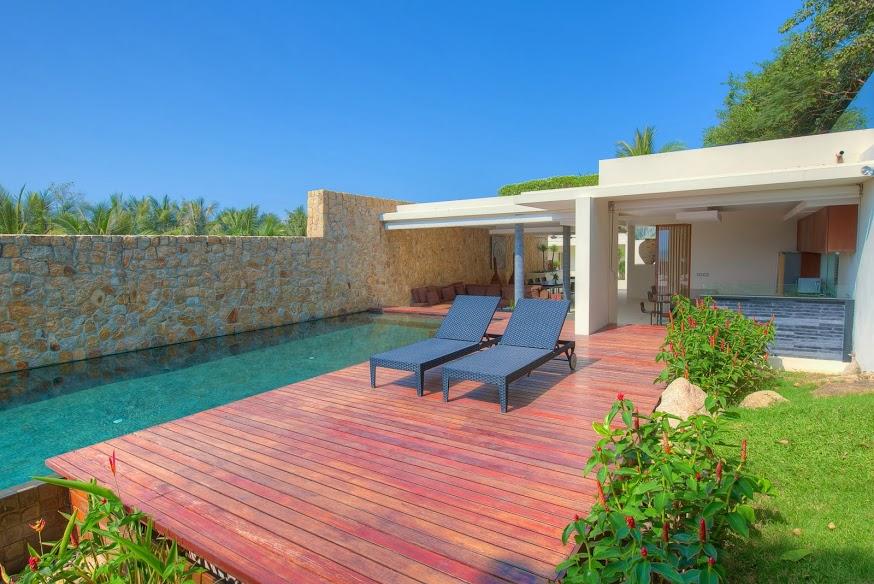 1 Bedroom Option Sea View Villa with Pool at Choeng Mon Ko Samui