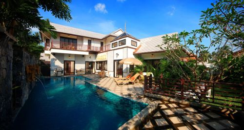 4 Bedroom Garden Villa with Private Pool at Chaweng Koh Samui