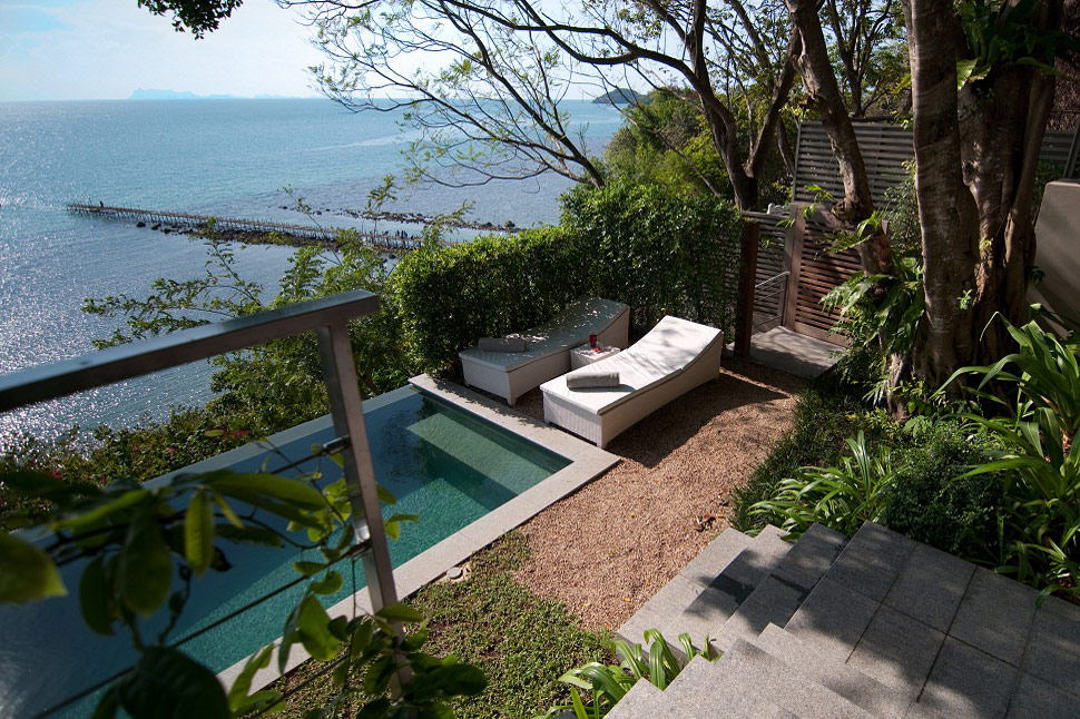 1 Bedroom Option Beach Front Villa with Pool at Taling Ngam Koh Samui