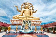 Explore Big Buddha Bang Rak In Koh Samui