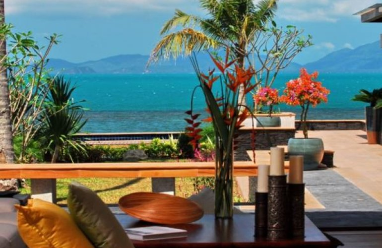 5 Bedroom Luxury Beach Front Villa with Private Pool at Bang Por Koh Samui