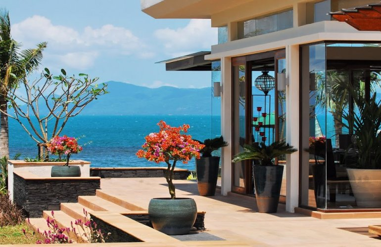 2 Bedroom Option Beach Front Villa with Private Pool at Bang Por Koh Samui