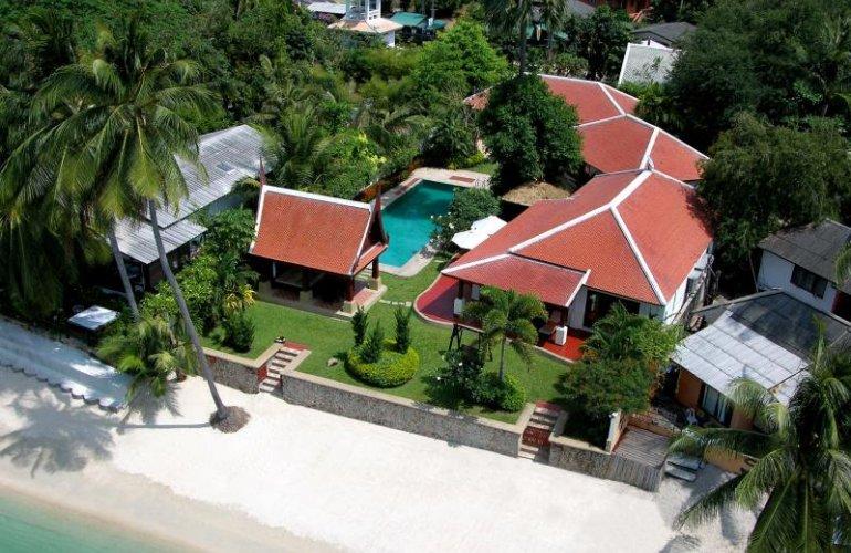 5 Bedroom Beach Front Villa with Private Pool at Bangrak Koh Samui