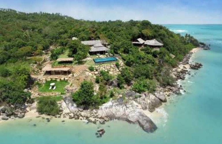5 Bedroom Option  Beach Front Villa with Private Pool at Laem Sett Koh Samui