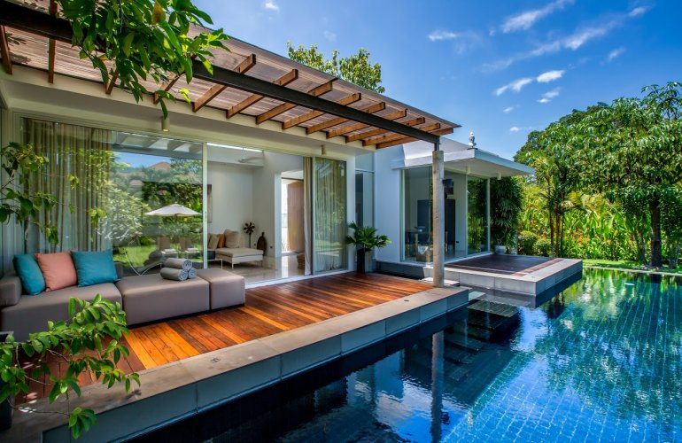 2 bedroom garden view villa with private pool at maenam for Garden pool villa outrigger koh samui
