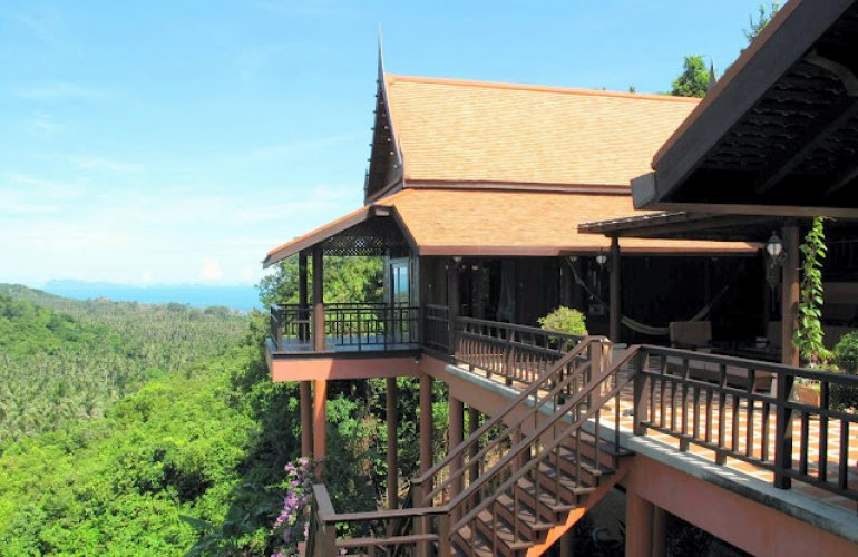 2 Bedroom Sea View Villa with Private Pool at Bang Por Koh Samui