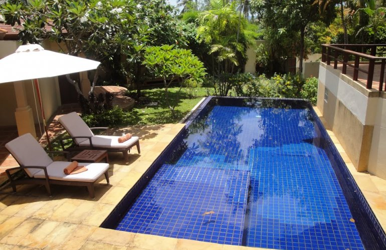 Three Bedroom Garden Villa with Pool at Choeng Mon Koh Samui Thailand