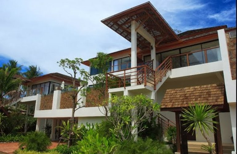4 Bedroom Sea View Villa with Private Pool at Bo Phut Koh Samui
