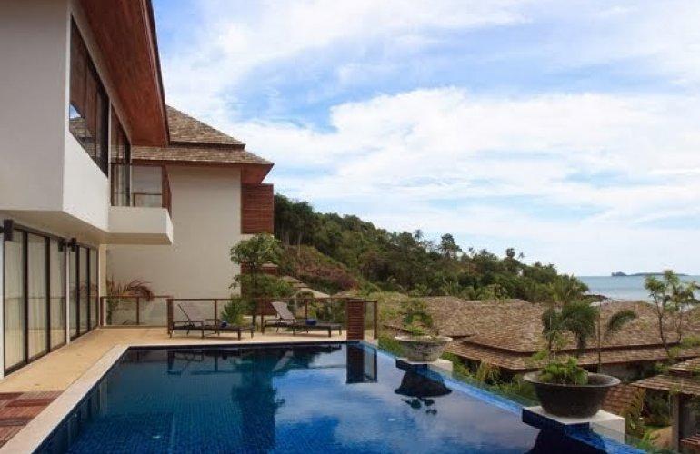 4 Bedroom Sea View Villa with Private Pool at Bo Phut Koh Samui