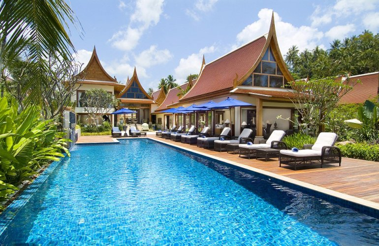 5 Bedroom Luxury Beach Front Villa with Private Pool at Lipa Noi Ko Samui
