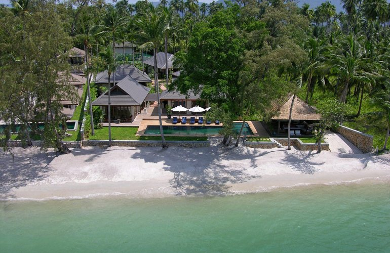 6 Bedroom Luxury Beach Front Villa with Private Pool at Lipa Noi Samui