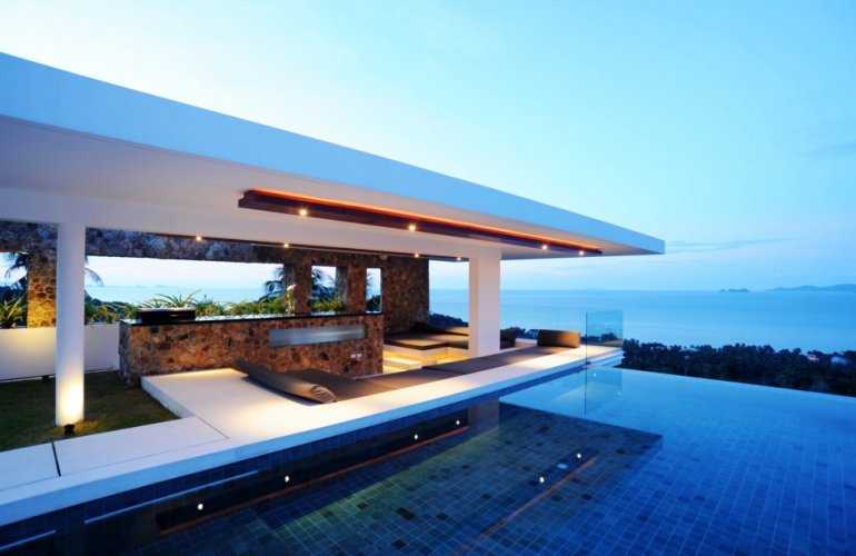 5 Bedroom Sea View Villa with Pool at Bang Por Ko Samui
