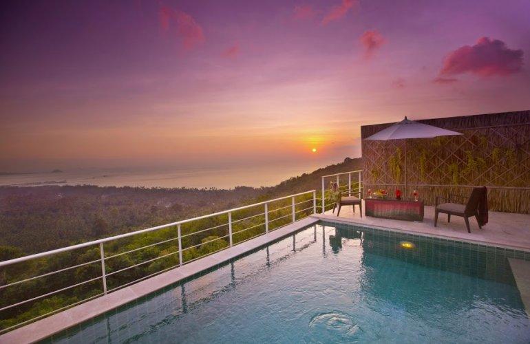 3 Bedroom Sea View Villa with Private Pool at Bang Por Koh Samui