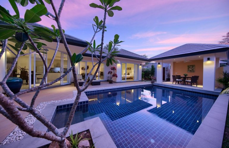 2 Bedroom Garden View Villa with Private Pool at Lipa Noi Ko Samui