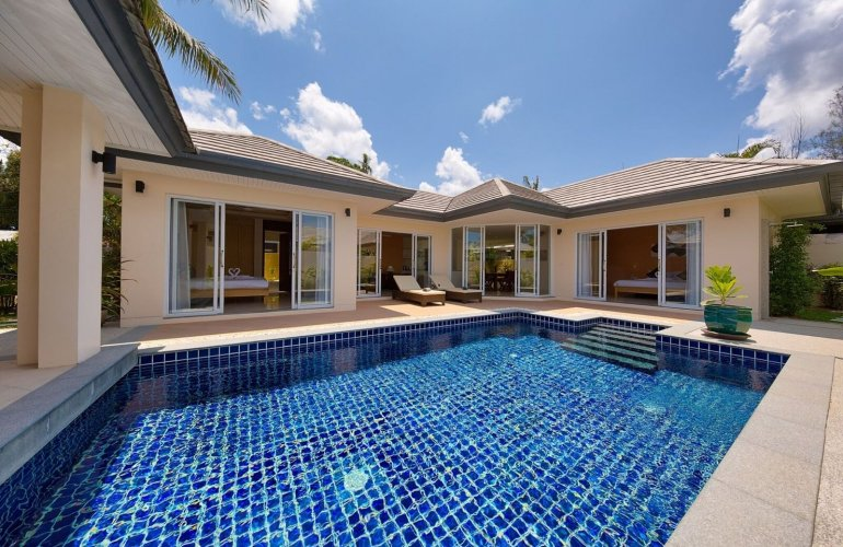 2 Bedroom Garden View Villa with Private Pool at Lipa Noi Samui