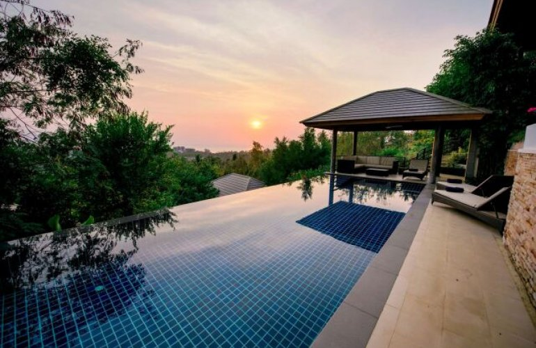 3 Bedroom Sea View Villa with Private Pool at Nathon Koh Samui
