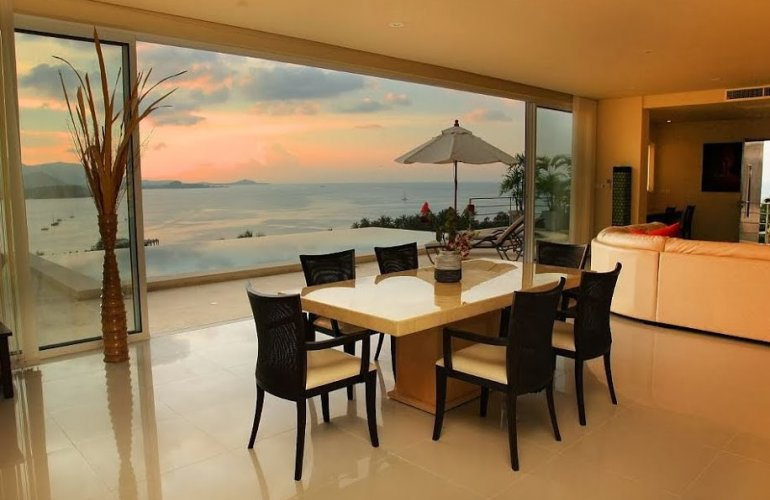 5 Bedroom Sea View Villa with Private Pool at Bangrak Koh Samui
