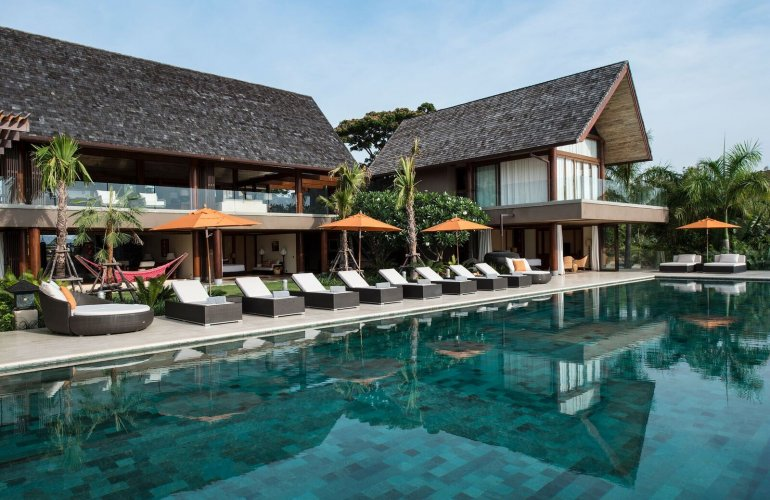 6 Bedroom Sea View Villa with Infinity Pool at Bophut Ko Samui