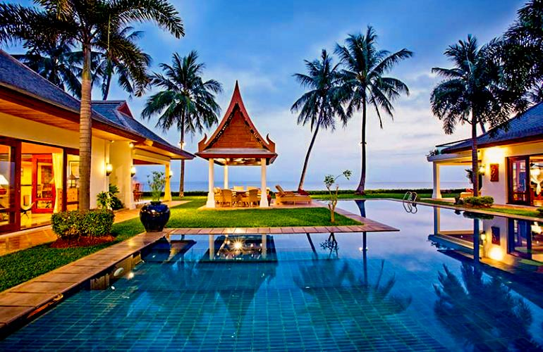 6 Bedroom Beach Front Villa with Private Pool at Maenam Ko Samui