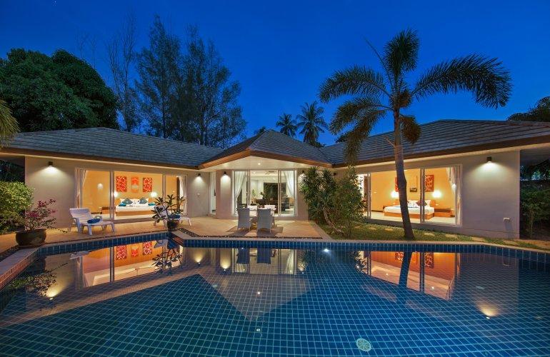 2 Bedroom Garden Villa with Private Pool at Lipa Noi Koh Samui