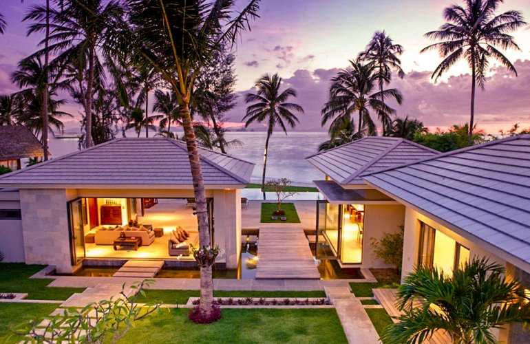 8 Bedroom Luxury Beach Front Villa with Private Pool at Lipa Noi Koh Samui