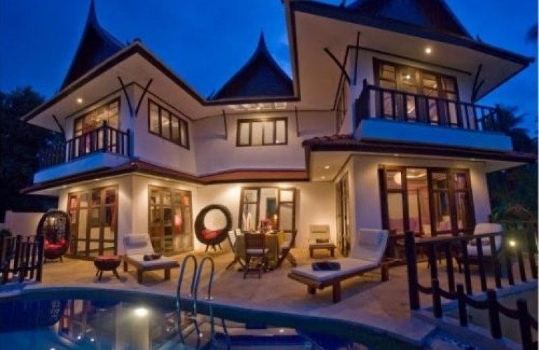 3 Bedroom Garden Villa with Private Pool at Choeng Mon Ko Samui