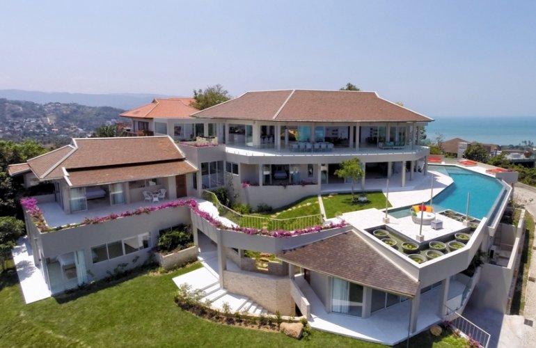 6 Bedroom Pool Villa with Sea View at Choeng Mon Koh Samui