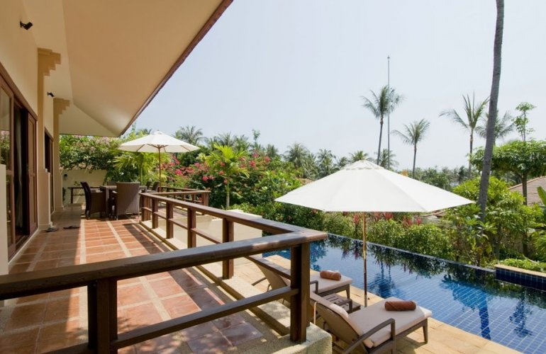 2 Bedroom Option Garden Holiday Villa with Pool at Choeng Mon Ko Samui