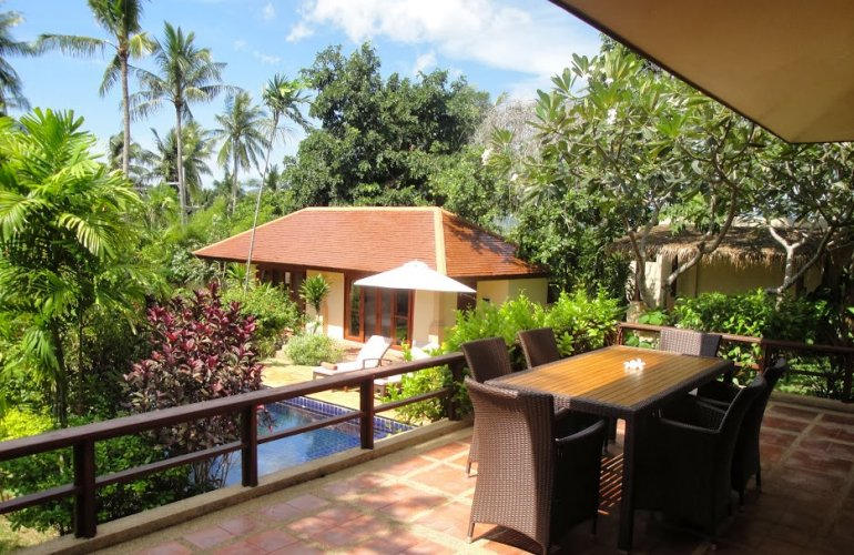 Two Bedroom Option Garden Villa with Pool at Choeng Mon Koh Samui