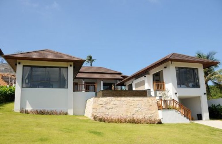 3 Bedroom Sea View Villa with Private Pool at Choeng Mon Koh Samui