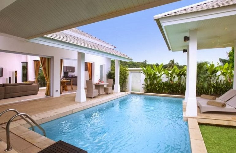 2 Bedroom Garden Villa with Private Pool at Choeng Mon Samui
