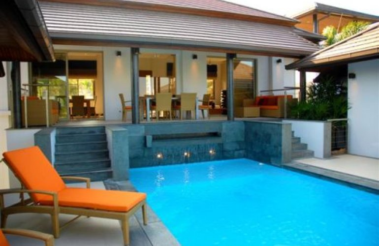 3 Bedroom Sea View Villa with Private Pool at Choeng Mon Samui